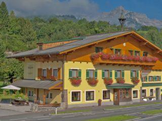 Trainingslager im Landgasthof in Werfen (Österreich)