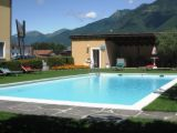 Trainingslager im Hotel in Sant Antonino (Schweiz)