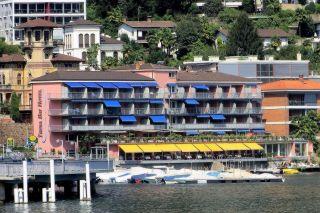 Trainingslager im Tresa Bay Hotel in Ponte Tresa (Schweiz)