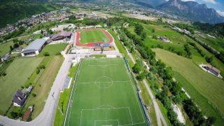 Trainingslager im Ostello Sportivo in Borgo Valsugana (Italien)