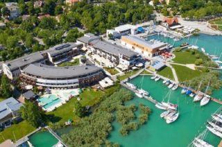 Trainingslager im Hotel Silverine Lake Resort in Balatonfüred (Ungarn)