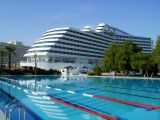 Trainingslager im Hotel Titanic Beach Lara in Antalya-Lara (Tuerkei)