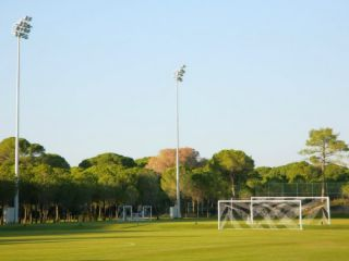 Trainingslager im Hotel Cornelia Diamond in Belek (Tuerkei)