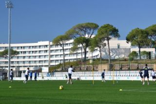 Trainingslager im Sentido Zeynep Resort in Belek (Tuerkei)